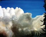 Wolken-Gemälde